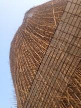 Bamboo scaffolding in Hong Kong