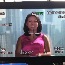 My view at CNN. Hong Kong, 2015.